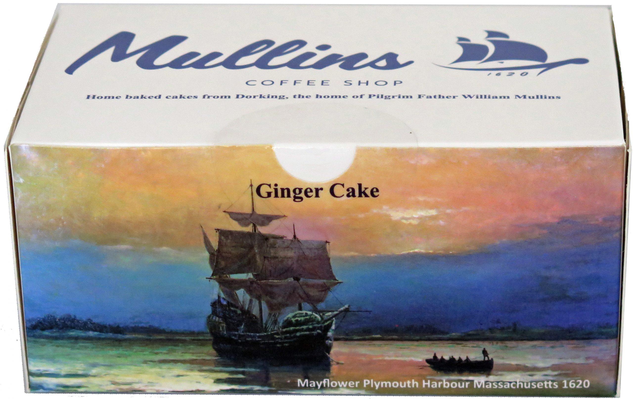 Box Ginger cake