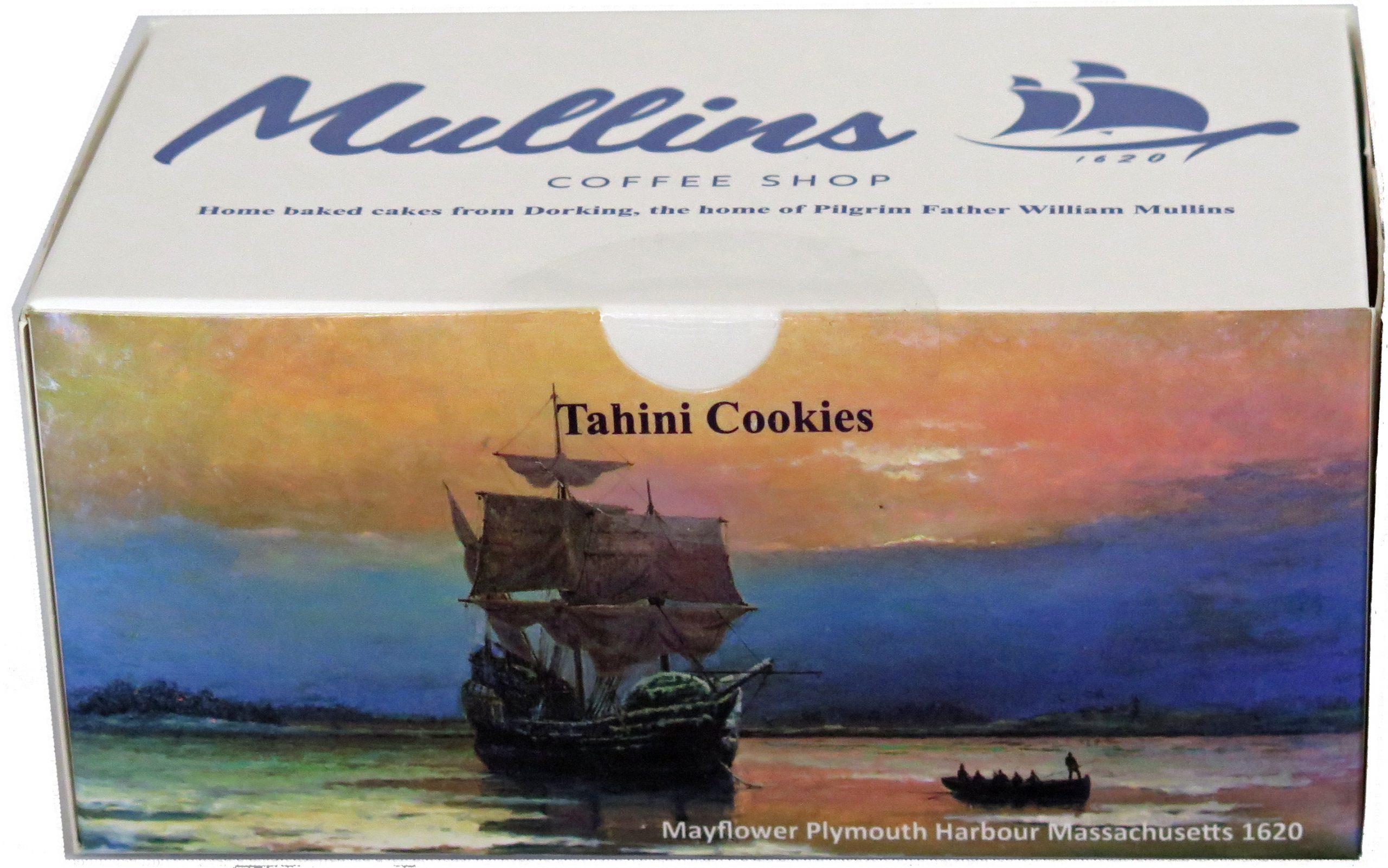 Box Tahini cookies
